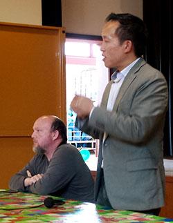 Assembly Member David Chiu with Todd David