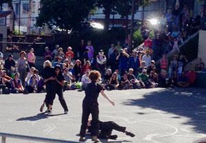 Trolley Dancers