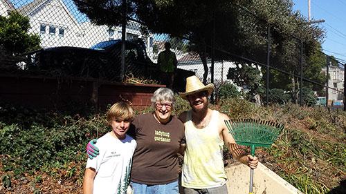 Upper Noe Ladybug Gardeners 9-13-2014 2