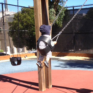 new baby swings at Upper Noe