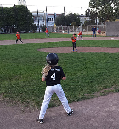 Players take to the diamond for their schools
