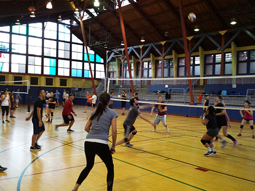 More Volleyball action at Upper Noe
