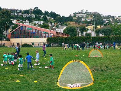 Soccer Tots April 2015