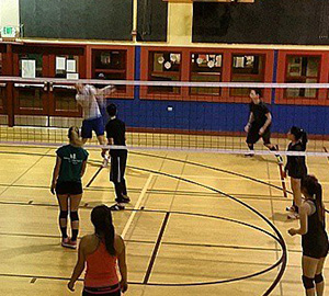Wed night pick-up volleyball game