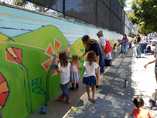 Day Street Mural at Upper Noe Rec Center