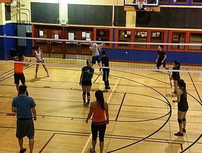 Volleyball at Upper   Noe